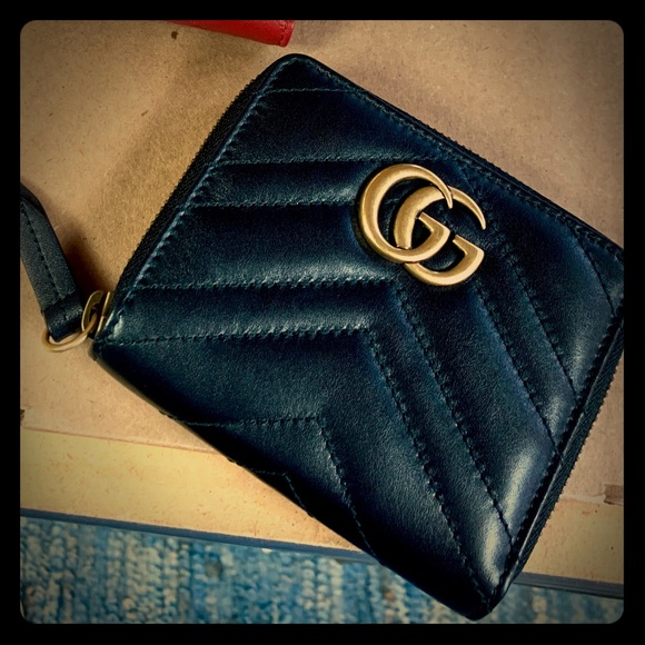 714579c296e9ec Gucci Bags | Gg Marmont Matelasse Wallet Price Is Firm | Poshmark
